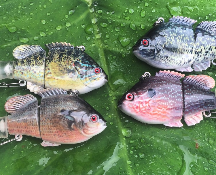 Get this ultra realistic set of swimbaits for only $22